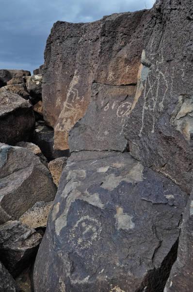 Photograph - Petroglyph Canyon New Mexico by Kyle Hanson