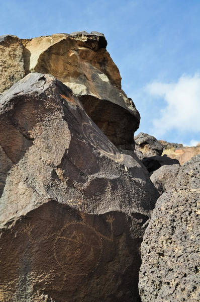 Photograph - Petroglyph Monument New Mexico by Kyle Hanson