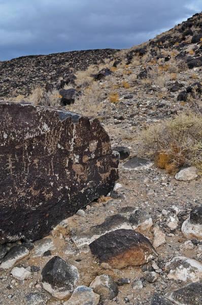 Photograph - Petroglyph Monument Portrait by Kyle Hanson