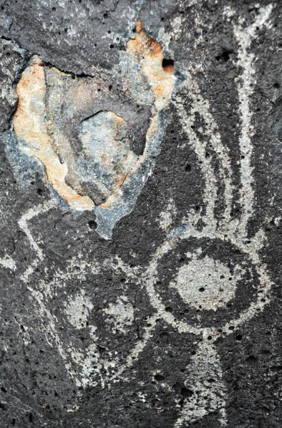 Photograph - Petroglyph National Monument Art Figures by Kyle Hanson