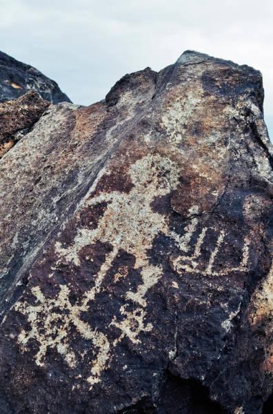 Photograph - Petroglyph National Monument Figures by Kyle Hanson