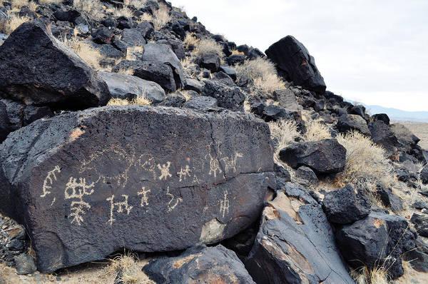 Photograph - Petroglyph National Monument Landscape by Kyle Hanson