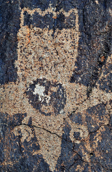 Photograph - Petroglyph National Monument Star Visitor by Kyle Hanson
