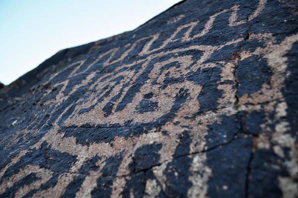 Photograph - Petroglyph Panel Lake Mead National Park by Kyle Hanson