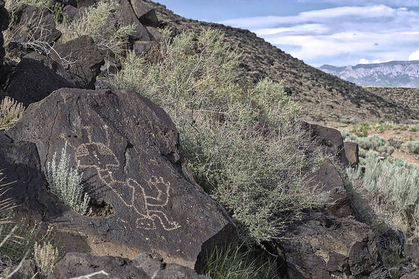 Photograph - Petroglyphs II - Albuquerque - New Mexico by Steven Ralser