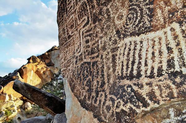 Photograph - Petroglyphs Lake Mead National Park by Kyle Hanson