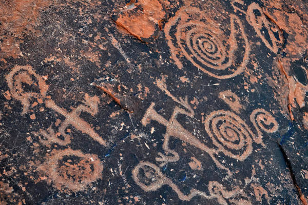 Photograph - Petroglyphs Valley Of Fire by Kyle Hanson