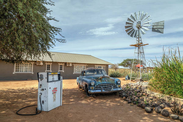 Wall Art - Photograph - Petrol Station Namibia by Joana Kruse