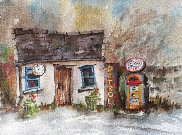 Painting - F 703  Petrol And Gasoline.. by Val Byrne