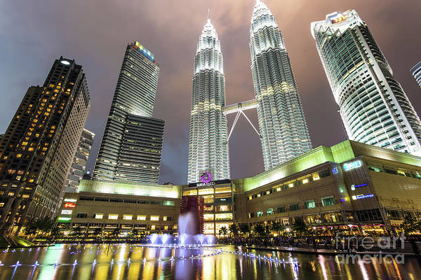 Photograph - Petronas Twin Towers In Kuala Lumpur by Didier Marti