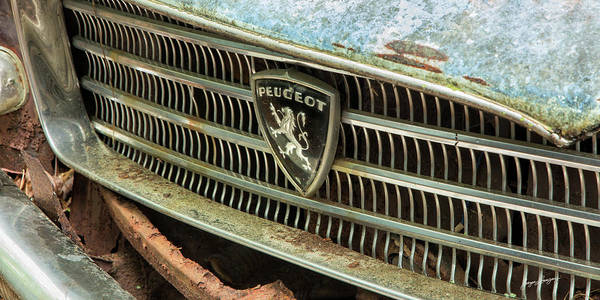 Wall Art - Photograph - Peugeot Grill by Jurgen Lorenzen