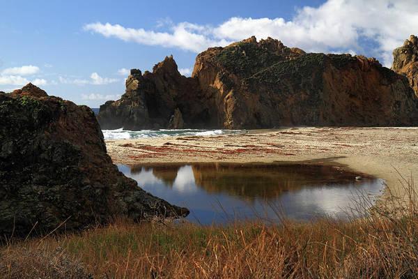 Photograph - Pfeiffer Beach Landscape In Big Sur by Pierre Leclerc Photography
