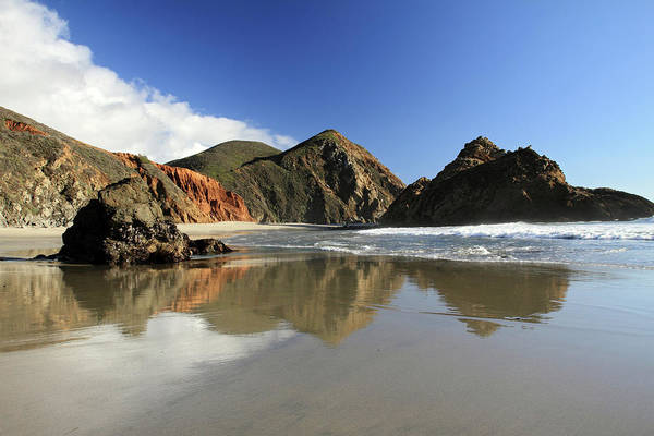 Photograph - Pfeiffer Beach Reflection by Pierre Leclerc Photography