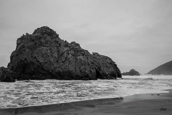 Photograph - Pfeiffer Beach Vii Bw by David Gordon