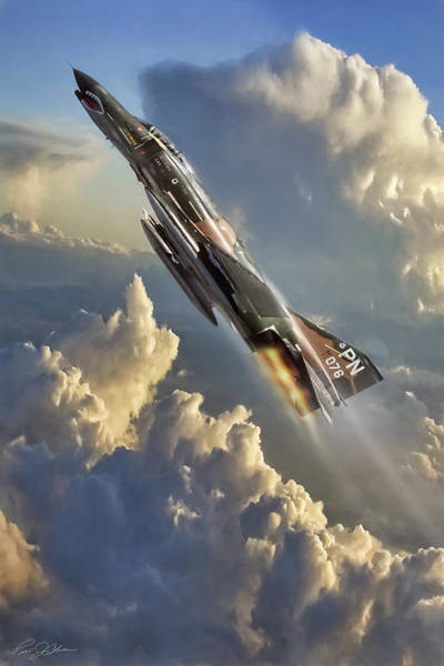 Wall Art - Digital Art - Phantom Cloud Break by Peter Chilelli