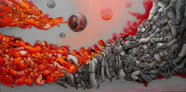 Commodity Painting - Phantom Destination  by Samir Sarkar
