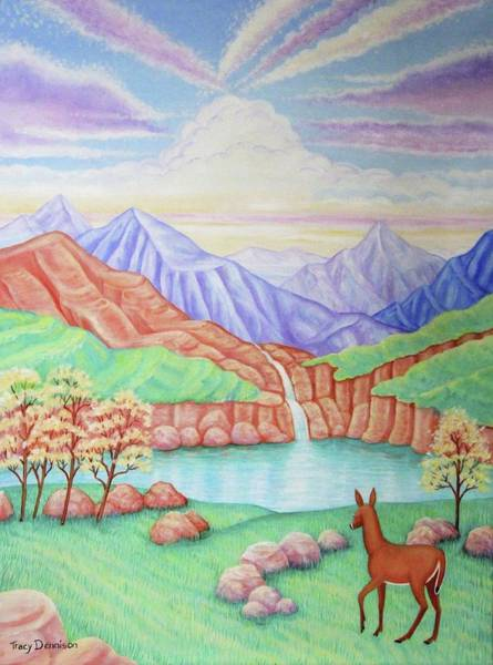 Painting - Phantom Valley by Tracy Dennison