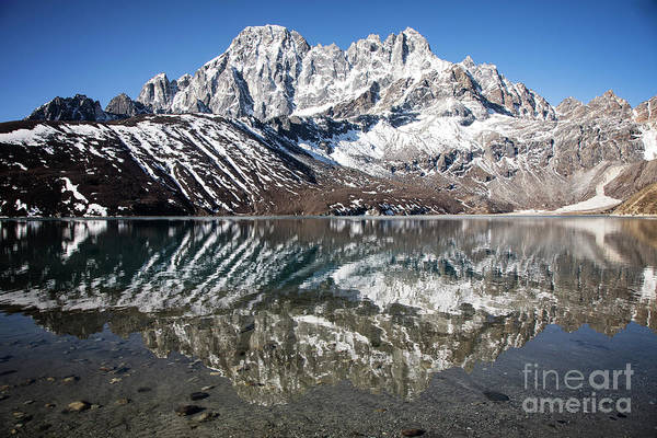 Photograph - Phari Lapche Reflection by Scott Kemper