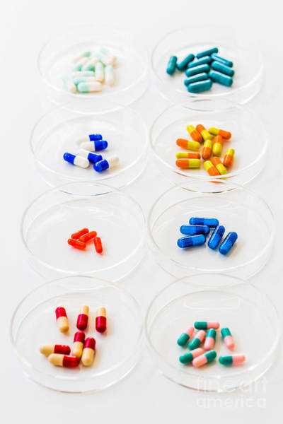 Photograph - Pharmaceutical Research by Voisin Phanie
