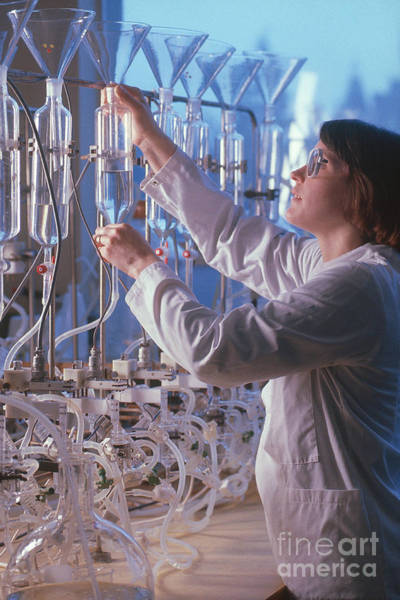 Wall Art - Photograph - Pharmaceutical Research by Will and Deni McIntyre