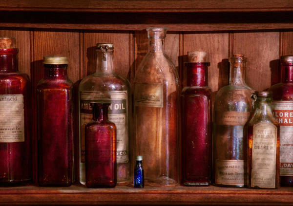 Earthtones Photograph - Pharmacy - From Antacids To Antiseptics by Mike Savad