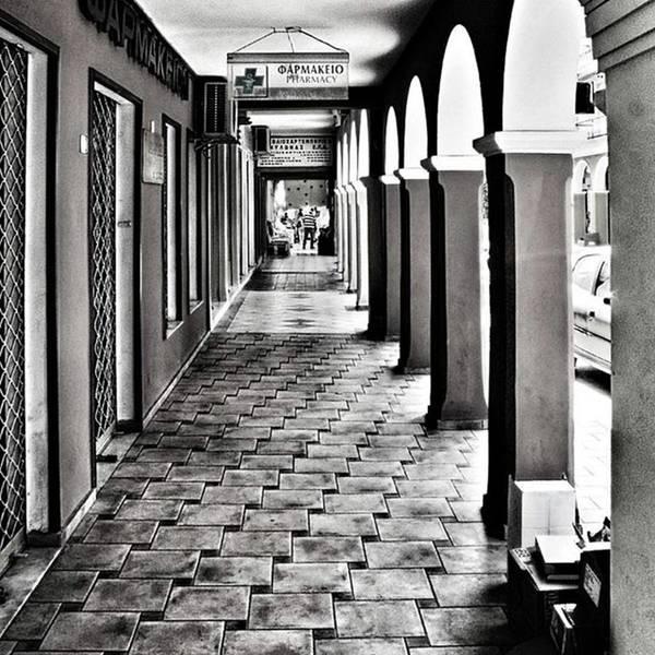 Ancient Photograph - Pharmacy, Zante Town. #zakynthos #zante by John Edwards