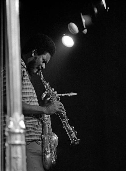 Photograph - Pharoah Sanders 1 by Lee Santa