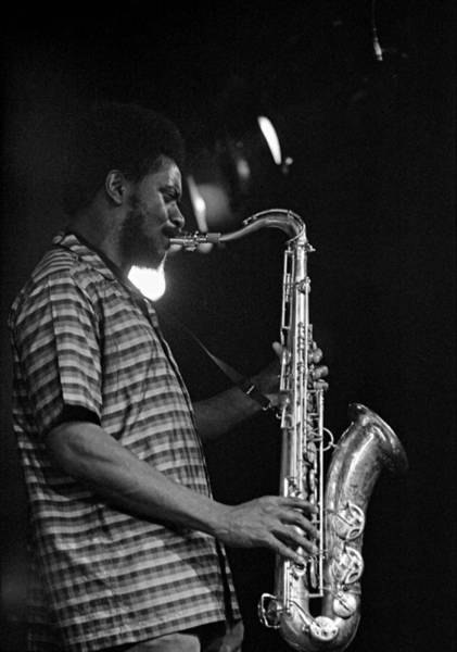 Photograph - Pharoah Sanders 2 by Lee Santa