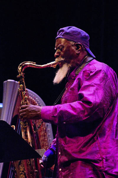 Photograph - Pharoah Sanders 6 by Lee Santa