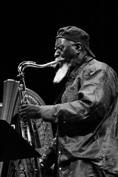Photograph - Pharoah Sanders 7 by Lee Santa
