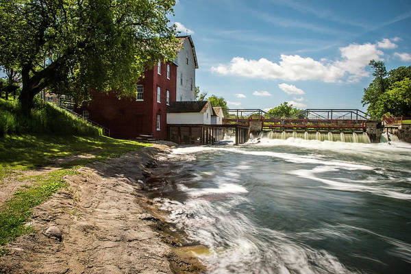 Wall Art - Photograph - Phelps Mill Long Exposure by Paul Freidlund