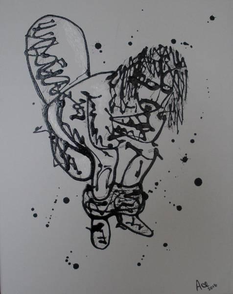 Frank Zappa Painting - Phi Zappa Krappa by James A Osborn
