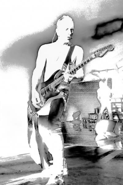 Photograph - Phil Collen Of Def Leppard by David Patterson