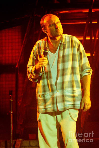 Ricky Lawson Photograph - Phil Collins-0871 by Gary Gingrich Galleries