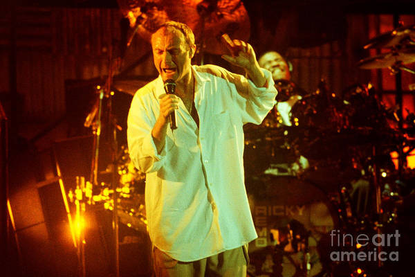 Ricky Lawson Photograph - Phil Collins-0903 by Gary Gingrich Galleries