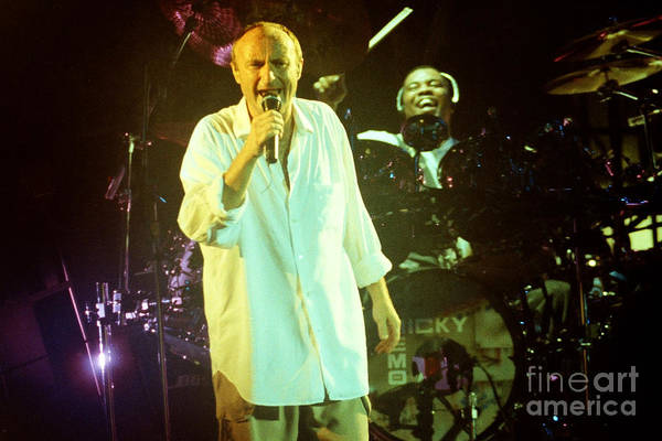 Ricky Lawson Photograph - Phil Collins-0904 by Gary Gingrich Galleries