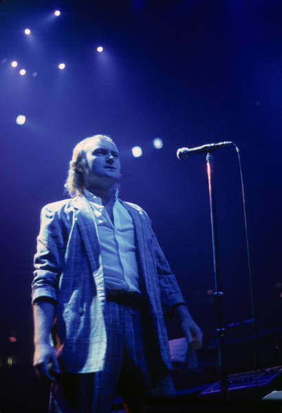 Photograph - Phil Collins Of Genesis by Rich Fuscia
