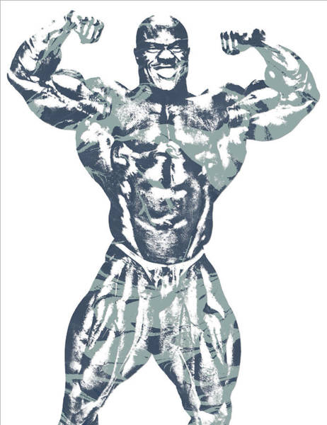 Fitness Mixed Media - Phil Heath Mr Olympia by Joe Hamilton