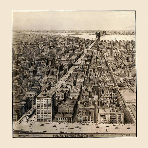 Photograph - Philadelphia 1920 by Andrew Fare