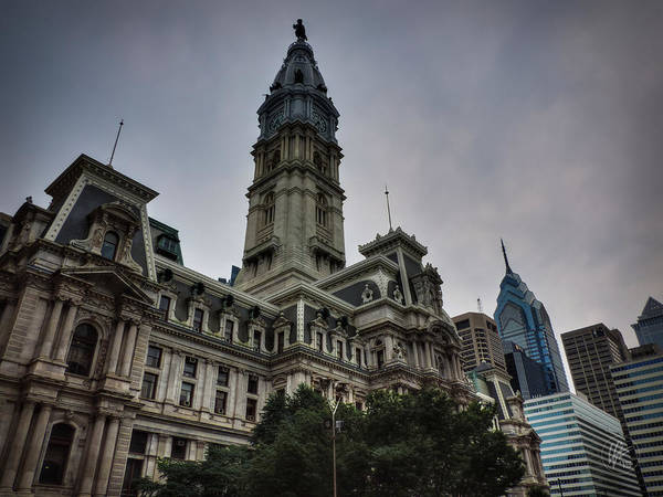 Photograph - Philadelphia - City Hall 001 by Lance Vaughn