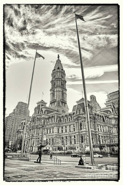 Wall Art - Photograph - Philadelphia City Hall 4 by Jack Paolini
