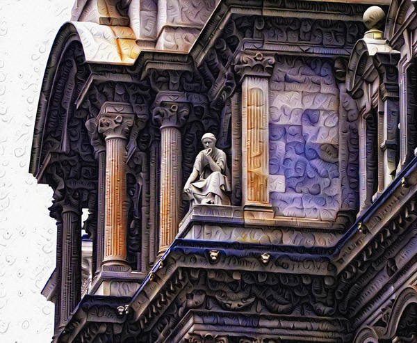 Painting - Philadelphia City Hall - Amazing Architecture by Bill Cannon