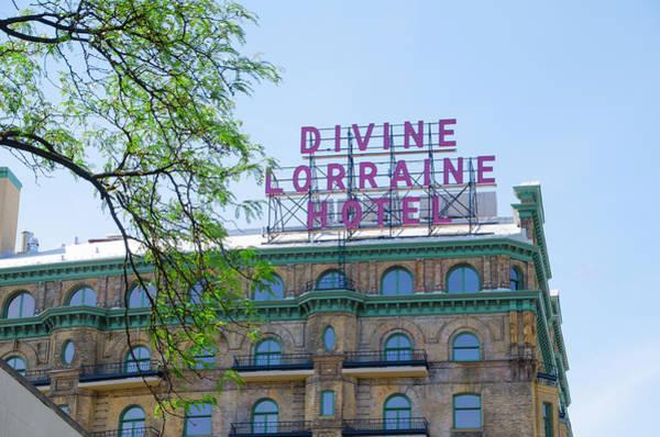 Photograph - Philadelphia - Divine Lorraine - Restored by Bill Cannon