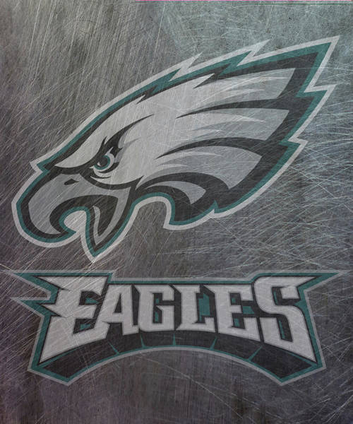 Mixed Media - Philadelphia Eagles Translucent Steel by Movie Poster Prints