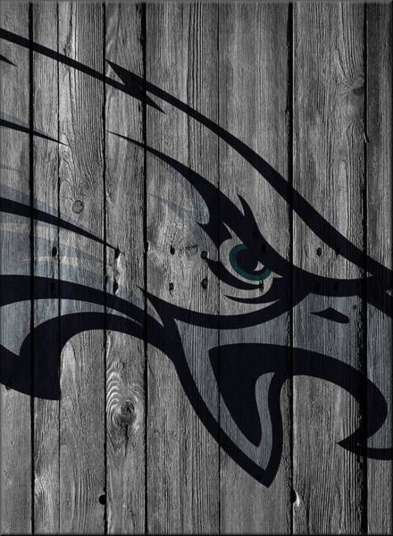 Philadelphia Photograph - Philadelphia Eagles Wood Fence by Joe Hamilton