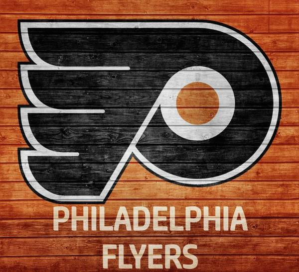 Flyers Photograph - Philadelphia Flyers Barn Door by Dan Sproul