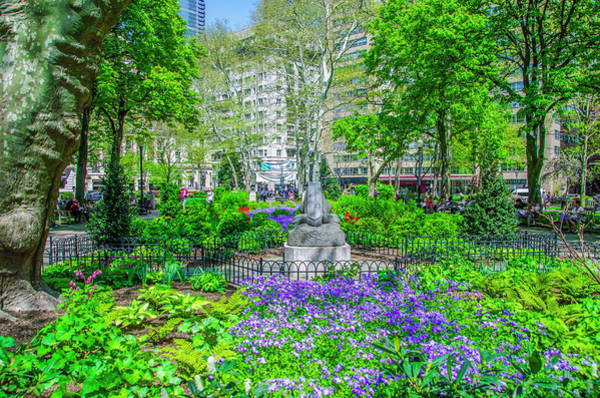 Rittenhouse Square Wall Art - Photograph - Philadelphia In Bloom - Rittenhouse Square by Bill Cannon