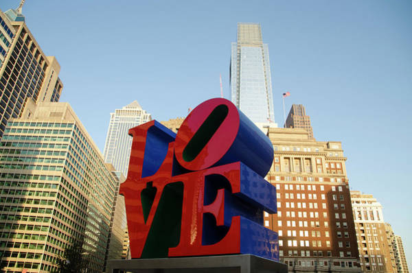 Wall Art - Photograph - Philadelphia - Love Park by Bill Cannon
