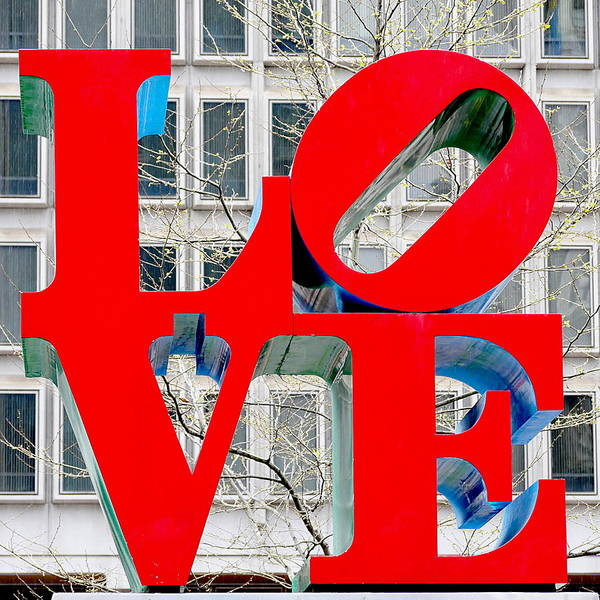 Photograph - Philadelphia - Love by Richard Reeve