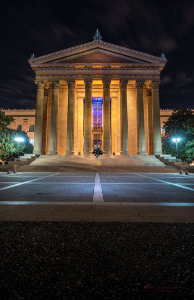 Greek Revival Architecture Photograph - Philadelphia Museum by Marvin Spates